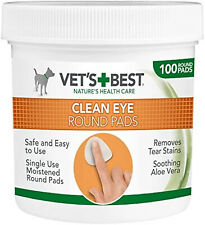 More details for pads cleaning best eye dogs remover wipes pack of 100 face vets natural freepost