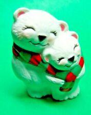 1994 Hallmark Polar Bears Christmas Merry Miniature (C198)