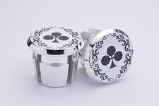 Colnago Arabesque Plugs Caps Tapones guidon bouchon lenker vintage style White