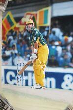 Mark Waugh (Australia) signed original 500mm x 750mm ODI  photo + COA   (#2312)