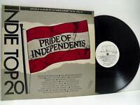 PRIDE OF INDEPENDENTS - INDIE TOP 20 VOL VI various DOUBLE LP EX/VG+, TT06 vinyl