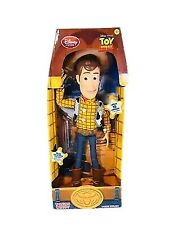 Disney Store Sheriff Woody Parlant Talking Pull String Action Figure Toy Story