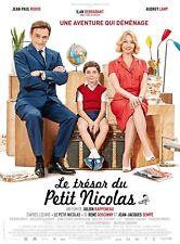 Le Trésor du Petit Nicolas -  Affiche cinema 40X60 - 120x160 Movie Poster