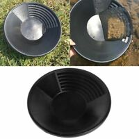 Gold Basin Nugget Mining Pan Dual Riffle Dredging Prospecting River Tool Plastic