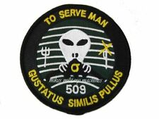 USAF Area 51 Air Force Black Ops Stealth B-2 509th To Serve Man Aviation Patch
