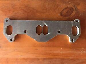 Mazda 12a Twin Dizzy Inlet Manifold Flange R100 RX2 RX3 RX4 RX5 RX7 RX8 Cosmo
