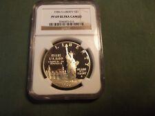 1986S NGC Pf 69 ultra cameo Liberty silver dollar 1986 S commemorative coin