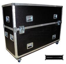 70'' LCD LED Custom Dual Heavy Duty Road Case Made In USA