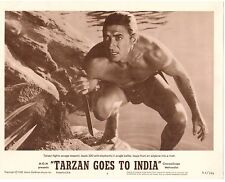 "JOCK MAHONEY TARZAN GOES TO INDIA ORIGINAL 11x14"" LOBBY"