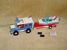 LEGO Sets: Town: Classic Town: Harbor: 6698-1 RV with Speedboat (1986) 100%
