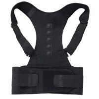 Terapia Magnética Postura Corrector Hombro Cinturón de Sujeción para Hombre R7U4