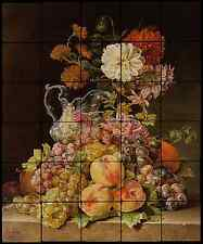 24x20 Stilleb Backsplash Mural Tumbled Marble Tiles Kitchen Ideas Jean Capeinick