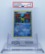 POKEMON EX DELTA SPECIES DITTO [SQUIRTLE] #40 REVERSE HOLO PSA 10 GEM MINT #*