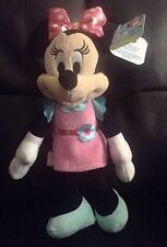 """Minnie Mouse 10"""" Plush Toy Disney Just Play Collectible Spring 2016 Nwt"""