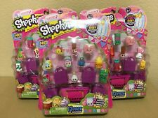 SHOPKINS SEASON 2 - 12 PACK - LOT OF 3 PACKAGES - NEW & SEALED  FREE SHIPPING
