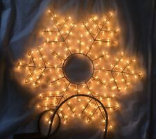 MERRY XMAS CHRISTMAS LIGHTS SNOWFLAKE ROPE LIGHT