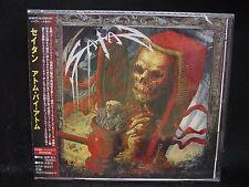 SATAN Atom By Atom + 2 JAPAN CD Blitzkrieg Avenger Blind Fury Pariah Tysondog