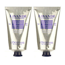 SET OF 2 L'Occitane Lavender Hand Cream 75ml Body Hand Nail Care NEW #8178_2