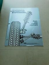 1980's FORD CAR AND TRUCK AUTOMOTIVE SUSPENSIONS AND ALIGNMENT SHOP MANUAL