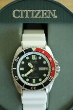 OLD STOCK DEMONSTRATOR CITIZEN 200M STAINLESS DIVER WATCH TRIPLE COLOR BOXED SET
