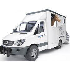Bruder MB Sprinter Tiertransporter inkl. 1 Pferd Transporter
