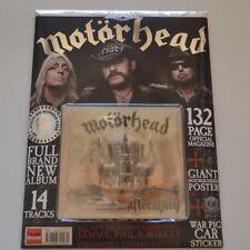MOTORHEAD - CLASSIC ROCK 'FAN PACK' AFTERSHOCK - 2013 132- PAGE MAGAZINE + CD