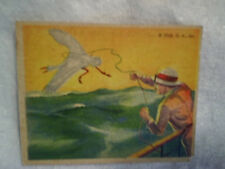 1938 FRANK BUCK 33 Learning To Loop A Lariat TRADING CARD,Non-Sport,saurus crane
