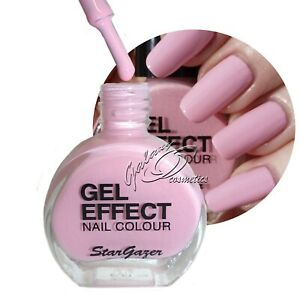 Stargazer GEL EFFECT Nail Polish Extra Glossy Gel Like Varnish NO UV/LED Lamp
