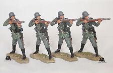 Lot 4 Figurines Del Prado Peloton Allemand Infanterie Soldat 1940 Wehrmacht NEUF