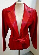 """Damen Jacke/Blazer rot 38 oder 40, 1-""""Knopf""""-Hackenverschluß Auslegekragen"""