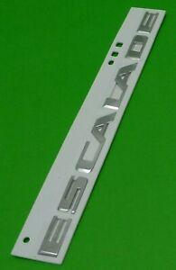 23440294 Cadillac Escalade Liftgate Nameplate Chrome 3D Emblem Decal Sticker