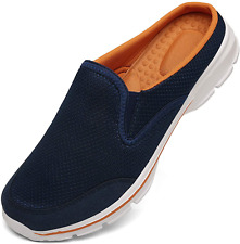 Unisex Slippers Casual Clog House Shoes Comfort Slip-On Walking Mules with Indoo