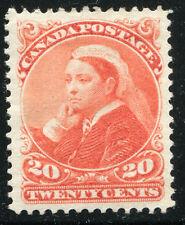 CANADA #46 XF Original Gum Issue - Queen Victoria - S8007