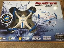 Aqua Drone 2.4 GHZ Waterproof RC QuadCopter, Remote Control Water proof New