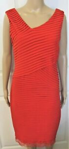 Calvin Klein red dress-size 8