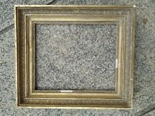 ancien cadre empire bois doré feuillure 24 cm x 20 cm à  restaurer old frame