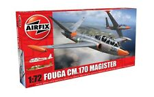 Airfix 03050 Fouga Magister Airplane 1/72 Scale Plastic Aircraft Model Kit