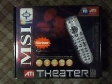 MSI ATI THEATER 550 PRO ANALOG TV TUNER/FM WITH REMOTE, USB RECEIVER - NIB