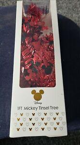 Disney/Primark 1ft Mickey Mouse Tinsel Christmas Tree