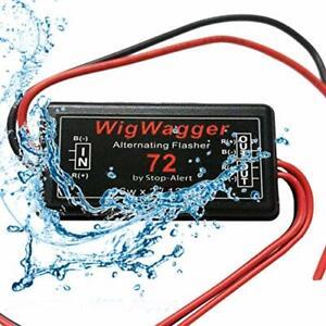 Wig Wag 72 Alternating WigWagger Flasher Emergency Car LED Strobe Light