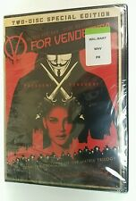 V For Vendetta (DVD, 2006, 2-Disc Set, Limited Edition)- BRAND NEW  FACTORY SEAL