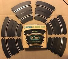 ATLAS 1:24 1:32 SLOT CAR RACING TRACK 14 INCH RADIUS HALF CURVED SECTIONS #1534
