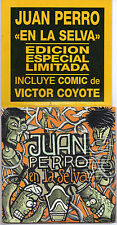 "JUAN PERRO / RADIO FUTURA ""EN LA SELVA"" SPANISH CD +COMIC / VICTOR COYOTE - NEW!"