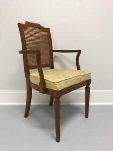 Louis XVI Style Adriano Cherry Dining Armchair by Davis Cabinet Co