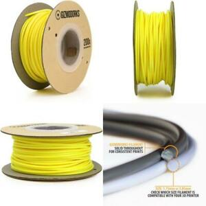 Gizmo Dorks Hips Filament for 3D Printers 3mm (2.85mm) 200g, Yellow
