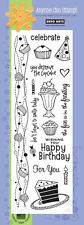Hero Arts Clear Designs Birthday Expressions, Scrapbooking, Craft, Cards, stamp