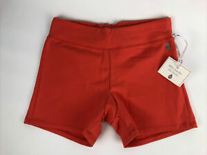 Rare Jois Designer Size Small Booty Short Shorts Bedwear Orange * Fast Free Ship