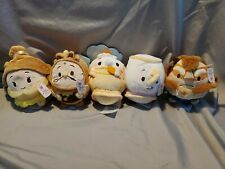 Disney Ufufy Beauty and the Beast set of 5 with Rose smell Nwt