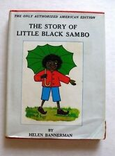 Collectable Little Black Sambo Childrens Book by Helen Hannerman