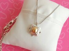 Brighton Necklace Affectionate Golden Silver crystal NWT 58.00